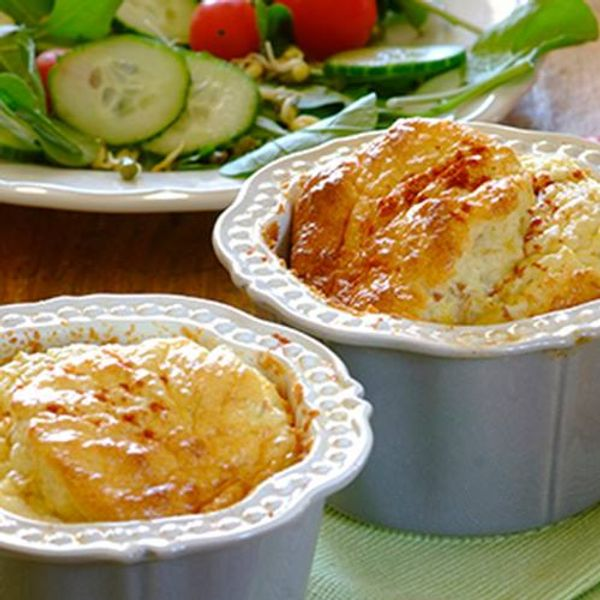 Cheesy Tuna Souffle