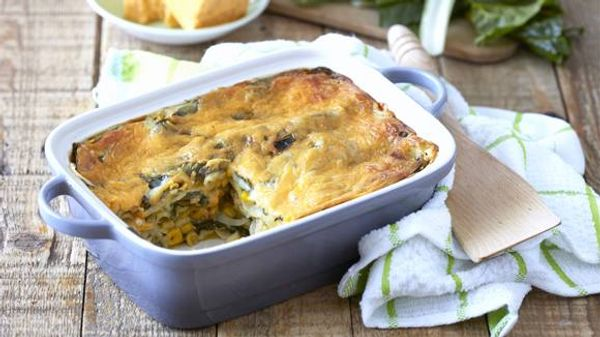 Easy Butternut and Spinach Lasagne