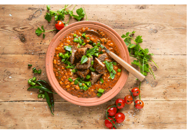 Spicy Boerewors and Samp Hot Pot