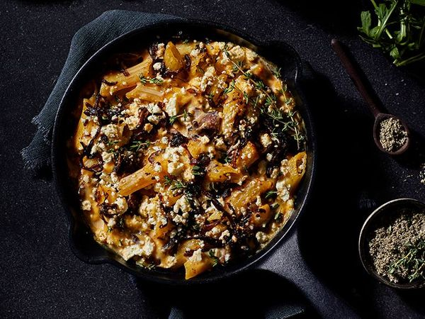 Biltong and Caramelised Onion Mac and Cheese