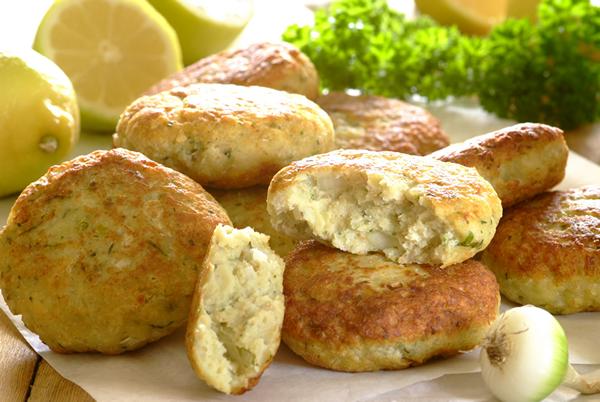 Lemon and Garlic Chicken Patties