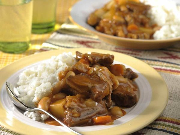 Beef and Butter Bean Stew