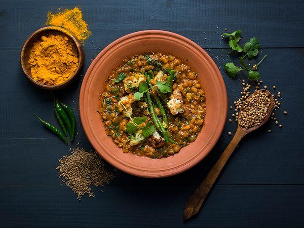 Cauliflower Bean Curry