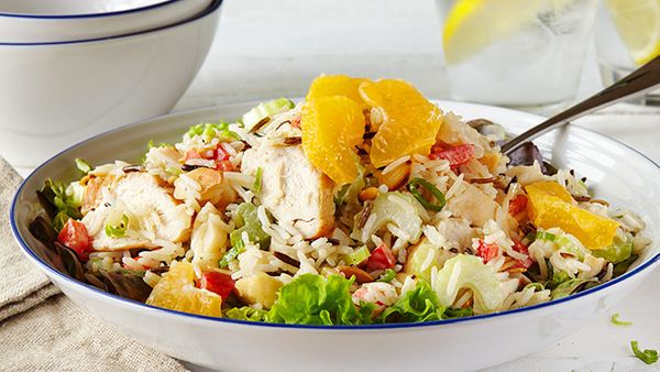 Chicken & Tomato Rice Salad
