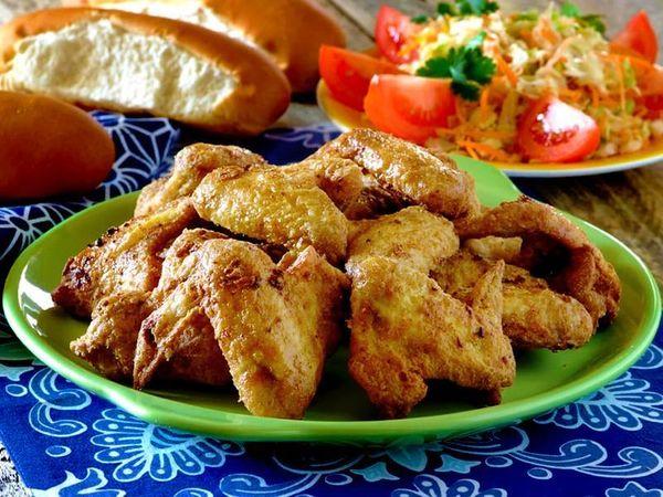 Crispy Fried Chicken Wings
