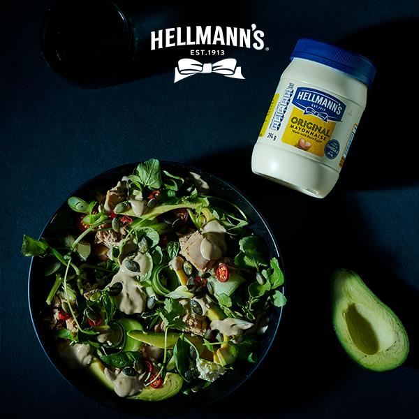 Creamy Avocado & Tuna Salad