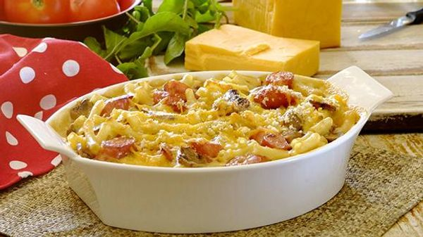 Bacon Griller Mac and Cheese