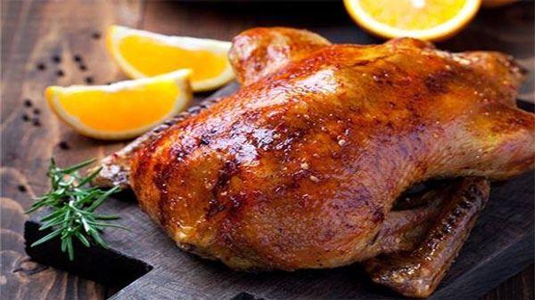 Honey and Garlic Roast Duck