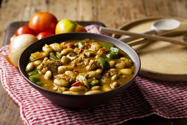 Chicken and Butter Bean Sishebo
