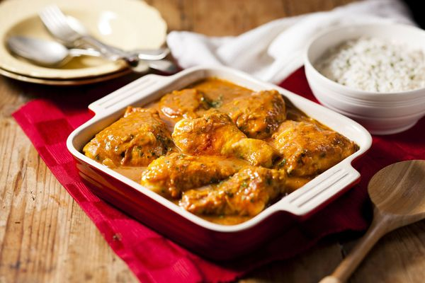 Hearty Chicken and Onion Stew