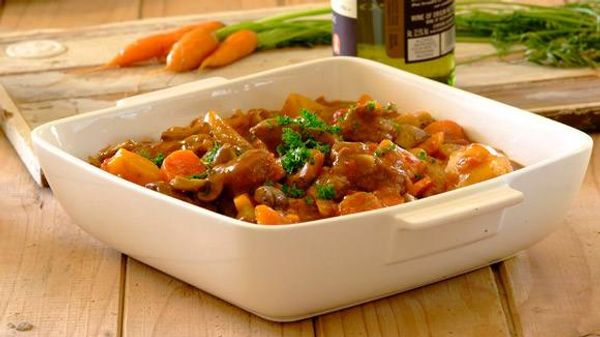 Slow Cooker Lamb and Butterbean Stew