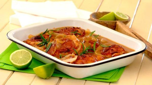Cola and Chutney Chicken