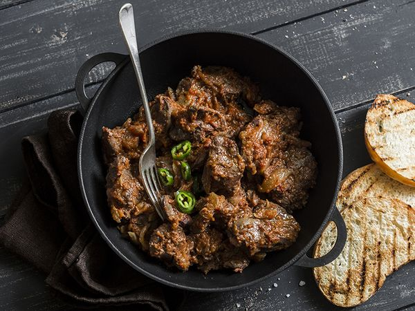 Peri Peri Chicken Livers