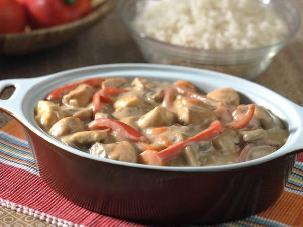 Creamy Chicken and Red Pepper Sishebo