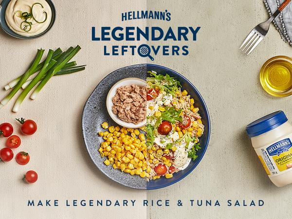 Summer Rice Tuna Salad