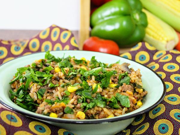 Knorrox One-Pot Savoury Mince Rice