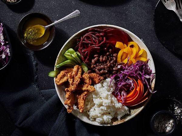 South African 7-Colour Chicken Salad