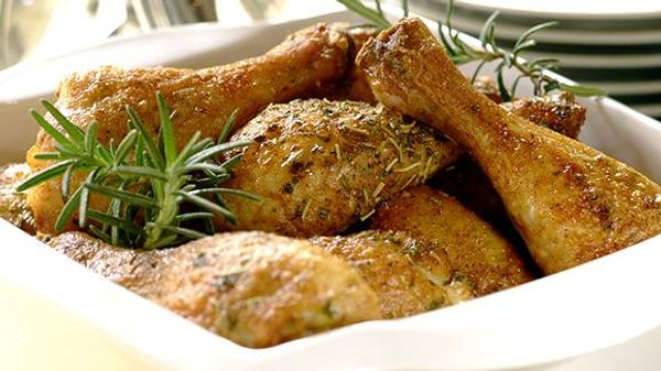 Garlic and Rosemary Chicken in a Cook-In-Bag