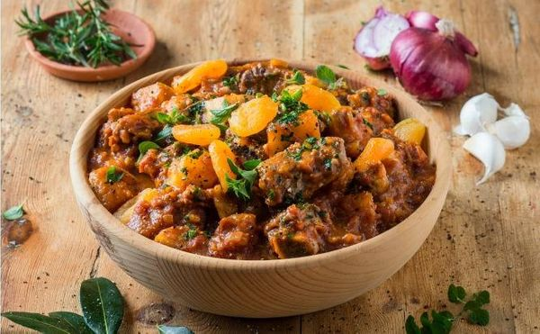 Beef Short Rib and Sweet Potato Tagine