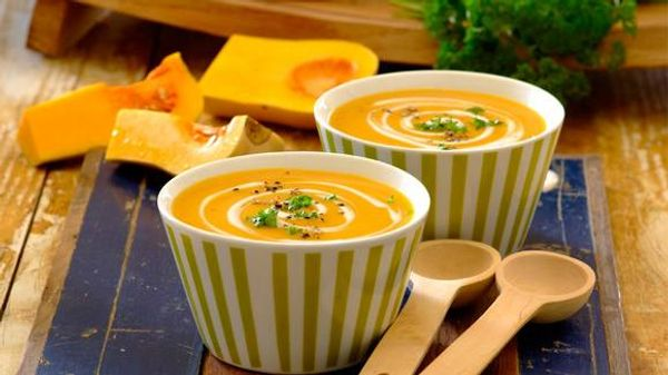Easy Butternut & Yoghurt Soup