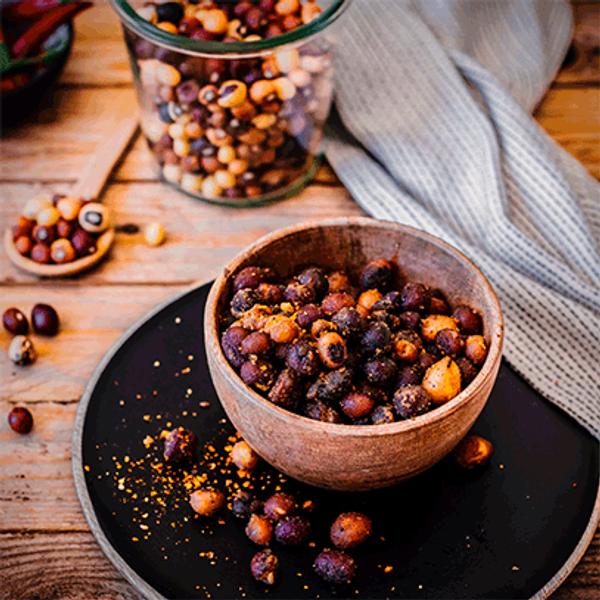 Crispy Peri-Peri Bambara Groundnuts