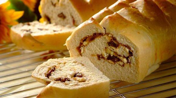 Homemade Biltong Feta Bread