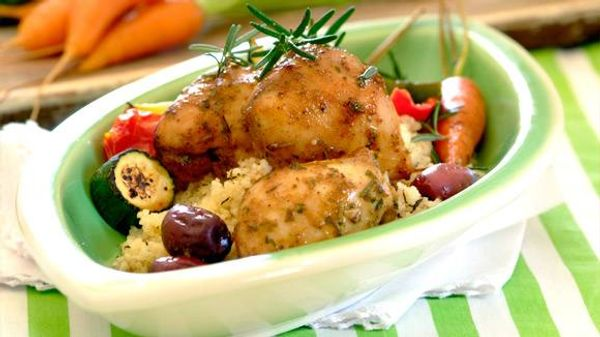 Chicken, Olive and Rosemary Bake
