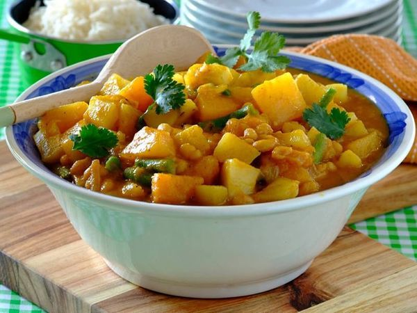 Pumpkin, Sweet Potato & Beans