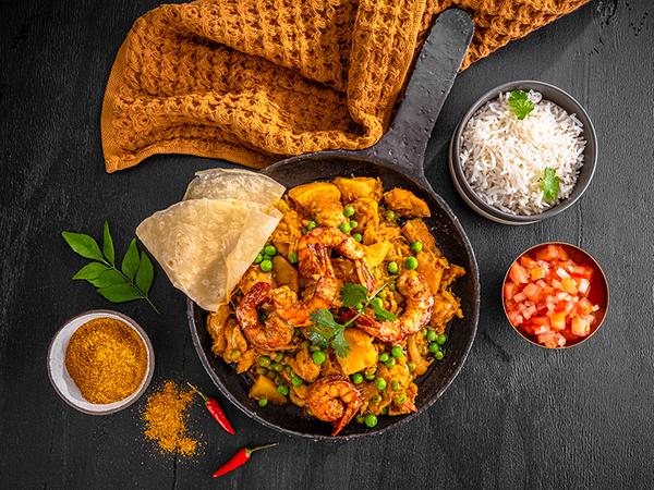 Chef Benny's Fish, Prawn & Mussel Masala Curry