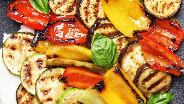 Verduras a la mostaza