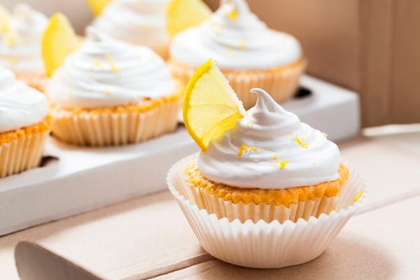 Cupcakes de limón sin TACC