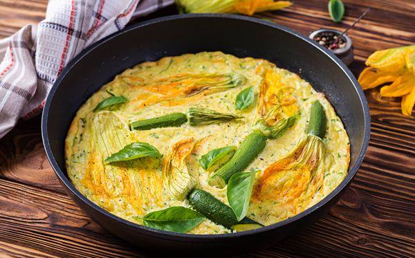 Soufflé de verduras casero, rico y mega fácil