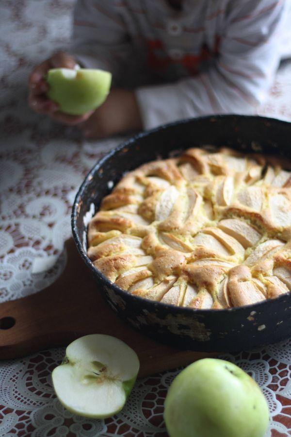 Torta fácil y económica de manzana