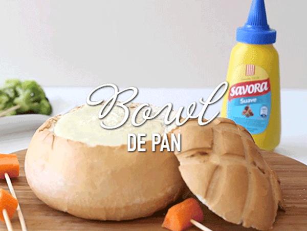 Pan de campo relleno con quesos
