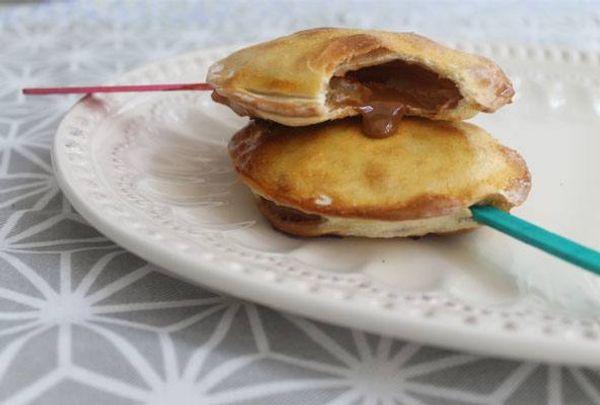 Tarteleta de manzana y dulce de leche
