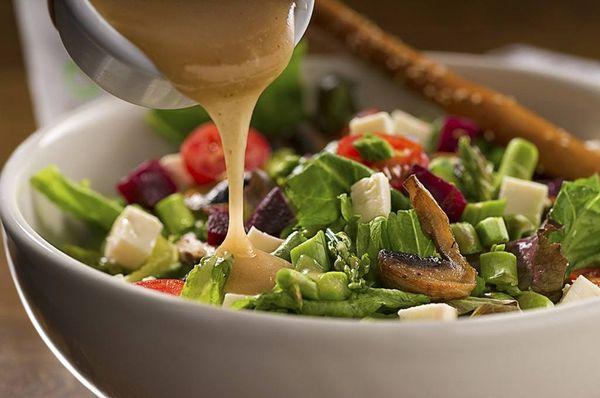 Aderezos y vinagretas para ensaladas de hojas verdes