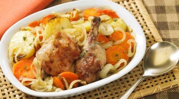 Hot Pot de pollo