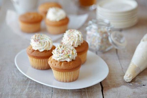 Cupcakes de naranja sin TACC