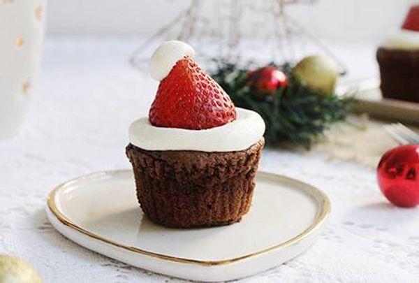 Muffins para Papá Noel