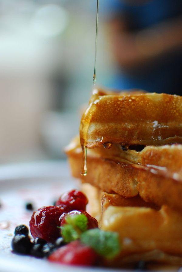 Waffles o hotcakes