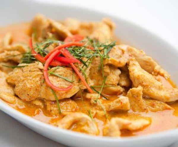 Pollito al curry