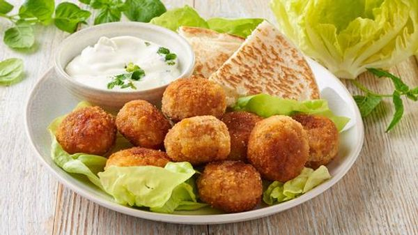 Receta fácil para hacer falafel casero