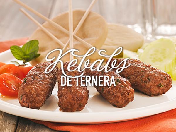 Kebabs de ternera
