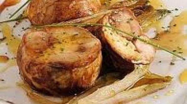 Conejo con salsa picante de mostaza al estragón
