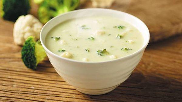 Sopa crema de brócoli