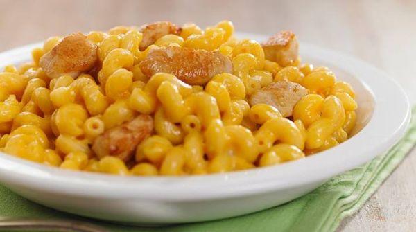 Mac & Cheese con pollo