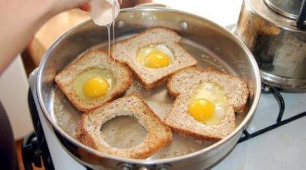 Huevos en la canasta