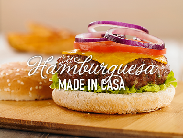 Hamburguesa Casera con Savora Original