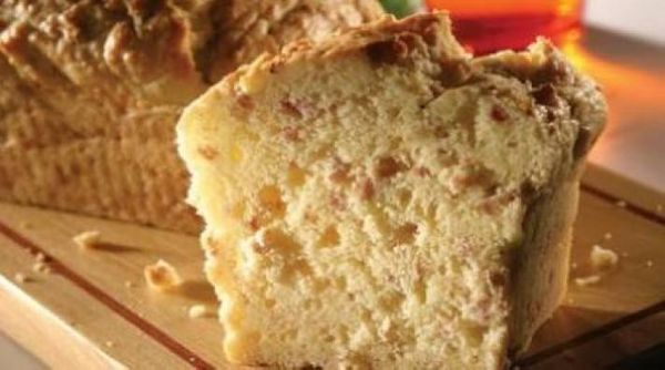 Pan casero con panceta