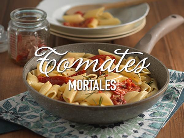 Pasta con tomates y un toque de Savora Original